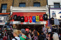 The Market at Camden Town in London Stock Photos