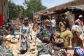 Market in Djenne, Mali Royalty Free Stock Photos