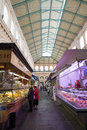 Market hall in livorno italy the old the city of region of tuscany Stock Images