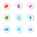 Market icons set Stock Image