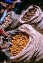 Photo : Market- Peru peppers