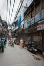 Market place in old part of New Delhi Royalty Free Stock Images