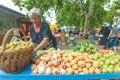 Market in Split Royalty Free Stock Image