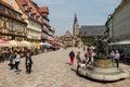 Market Square in Quedlinburg, Germany