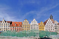 Market square, Wroclaw, Poland Royalty Free Stock Photo