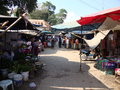Market tachileik myanmar south side limit with mae sai chiang rai province northern thailand Royalty Free Stock Images