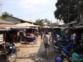 Market tachileik myanmar south side limit with mae sai chiang rai province northern thailand Royalty Free Stock Image
