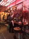 Market taken in hong kong Royalty Free Stock Photography