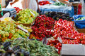 Market vegetables from local fermers Royalty Free Stock Photo