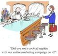 Marketing campaign Royalty Free Stock Photo