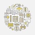 Marketing and copywriting illustration