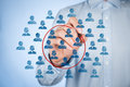 Marketing segmentation Royalty Free Stock Photo