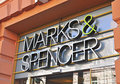 Marks and spencer logo vilnius lithuania april of flagship store in vilnius downtown on april is a world famous Stock Images