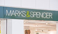 Marks and Spencer PLC logo. Royalty Free Stock Photos
