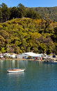 Marlborough Sounds Harbour Royalty Free Stock Photos