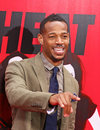 Marlon wayans adds a note of levity as he arrives on the red carpet of the ziegfeld theatre for the new york premiere of the film Stock Images