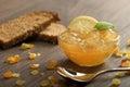 Marmalade lemon Royalty Free Stock Photo