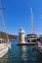 Marmaris port Royalty Free Stock Photo