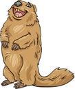 Marmot Animal Cartoon Illustra...