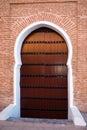 Marocco door Stock Images