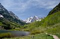 Maroon Bells, Colorado Royalty Free Stock Photo
