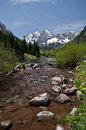 Maroon Bells, Colorado Stock Photography