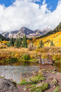 Maroon Bells Trail Royalty Free Stock Photo