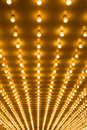 Marquee lights Royalty Free Stock Photo