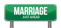 Marriage just ahead Stock Photography