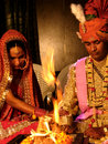 Marriage Rites Stock Image
