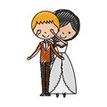 Married couple avatar characters