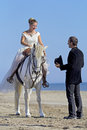 Marrieds And Horse