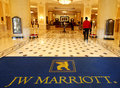 Marriott Hotel Interior Royalty Free Stock Photography