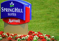 Marriott springhill suites hotel or inn in usa Stock Photos