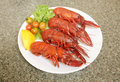 Marron Crayfish Royalty Free Stock Photography