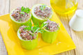 Marrow stuffed rice and meat Stock Photography
