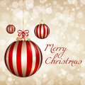 Marry Christmas background Stock Images