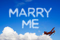 Marry me Royalty Free Stock Photo