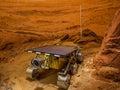The Mars Rover Royalty Free Stock Photo