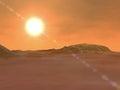 Mars, soil crust, space, solar system
