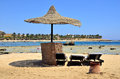 Marsa alam beach in egypt africa Stock Image