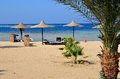 Marsa alam beach in egypt africa Stock Images