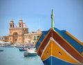 Marsaxlokk Royalty Free Stock Images