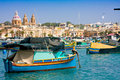 Marsaxlokk Stock Photo