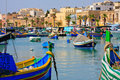 Marsaxlokk, Malta Royalty Free Stock Photography