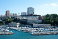 Marseille marina Royalty Free Stock Photo