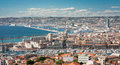 Marseille panorama Stock Image