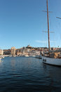 Marseilles port Royalty Free Stock Photos
