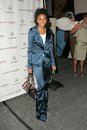Marsha thomason at the mercedes benz fashion week louis verdad show smashbox culver city ca Royalty Free Stock Image
