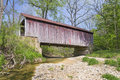 Marshall Covered Bridge Royalty Free Stock Photo